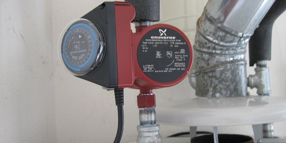 Hot Water Recirculator Pump